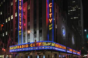 See a Show at Radio City Music Hall, New York City