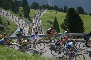 Attend Maratona dles Dolomites, Italy