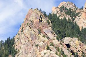 Rock Climbing Eldorado Canyon State Park , Colorado
