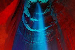 See Ruby Falls, Lookout Mountain, Tennessee