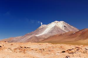Mountain Bike Down Ollage Volcano, Chile &amp; Bolivia