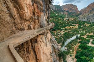 "Hike Caminito del Rey ""King's Walkway"", El Chorro, Spain"