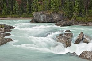 Raft or Kayak Kicking Horse River, British Columbia, Canada