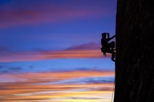 Rock Climb at Joshua Tree National Park, California