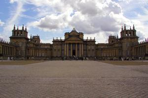 See Blenheim Palace, England (UNESCO site)