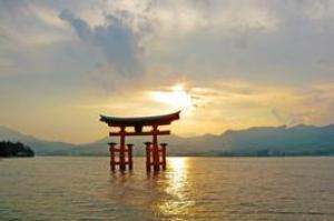 See Itsukushima Shinto Shrine, Japan (UNESCO site)