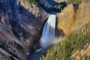 See Yellowstone Upper & Lower Falls, Yellowstone National Park, Wyoming