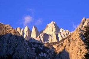 Trek from Death Valley to Mount Whitney, California